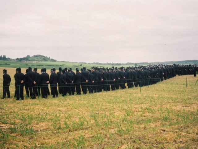 Jeremy Deller, The Battle of Orgreave, 2001. Directed by Mike Figgis. Co-Commissioned by Artangel and Channel 4. Photograph by Martin Jenkinson