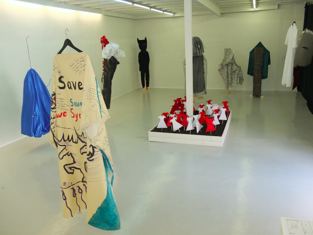 Exhibition view in RAM Gallery