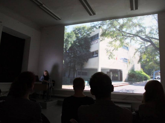 Mobile Archive in Yekateriburg. Lecture by Maria Veits, curator of Mobile ARchive in Russia, in Ural NCCA