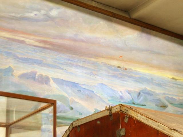 Экспозиция Музея Арктики и Антарктики