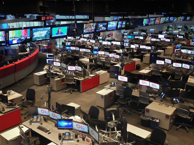 CNN 'Newsroom', 2011 Copyright is protected by Creative Commons