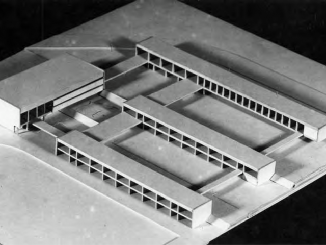 Mock-up of the Finnish-Russian school