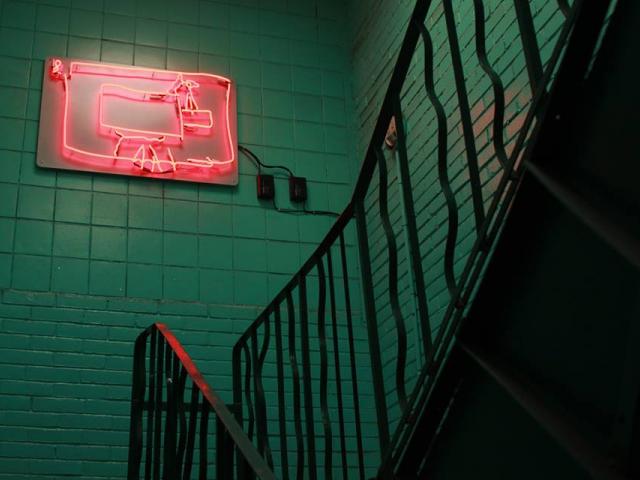 Joanna Raikowska, 'KINO!', neon installation