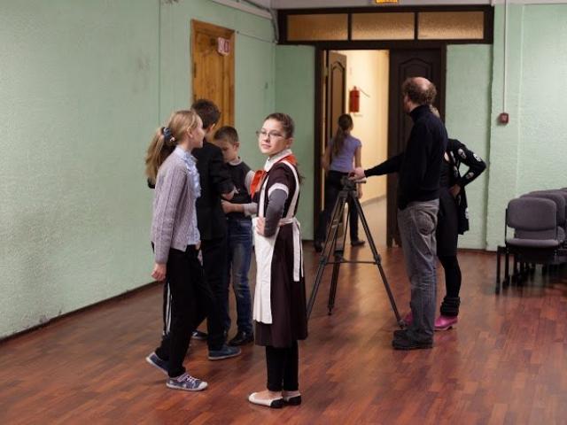 Мастер-класс Михаила Железникова  по созданию видео с использованием музейных экпонатов, декабрь 2014