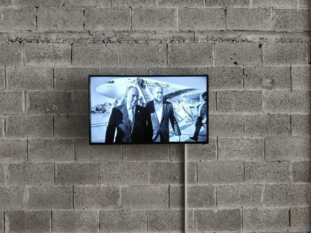 Aleksandra Wilczynska, FreiAir Ailrines, installation view, ArtCube Artists' Studios, 2018