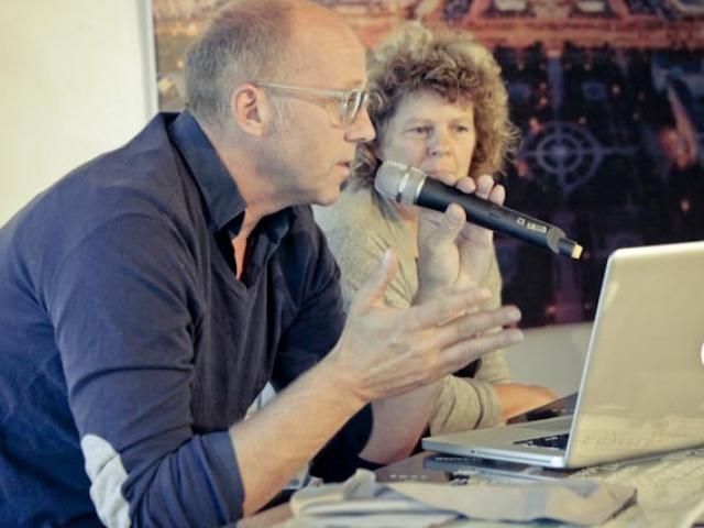 Бик Ван дер Пол рассказывают о своих проектах на презентации в Лофт Проекте ЭТАЖИ