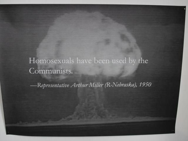 Yevgeniy Fiks Stalin's Atom Bomb a.k.a. Homosexuality  Giclee prints, 58,2 x 76 cm each, 2012