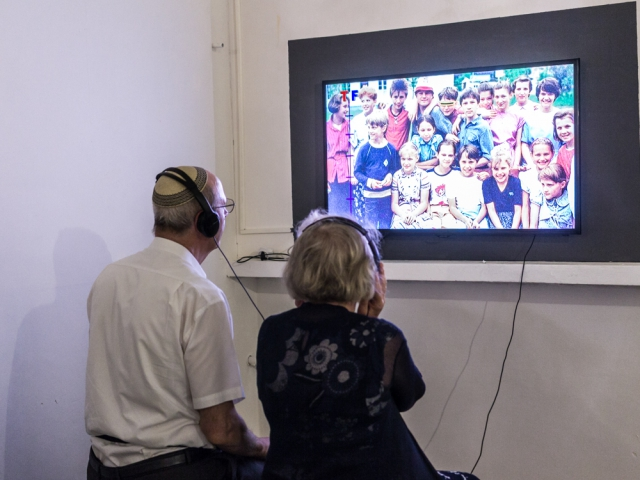 Dreamland Never Found. Ira Eduardovna, To Prague With Love, single channel HD video,13 min, video still, 2014. Installation view. Photo: Shir Comay
