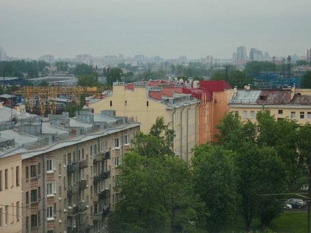 Вид из обсерватории в доме Софьи Паниной. Только до 23 июня!