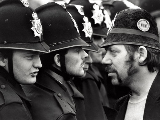 The miners' strike 1984-85 Photograph: Don McPhee
