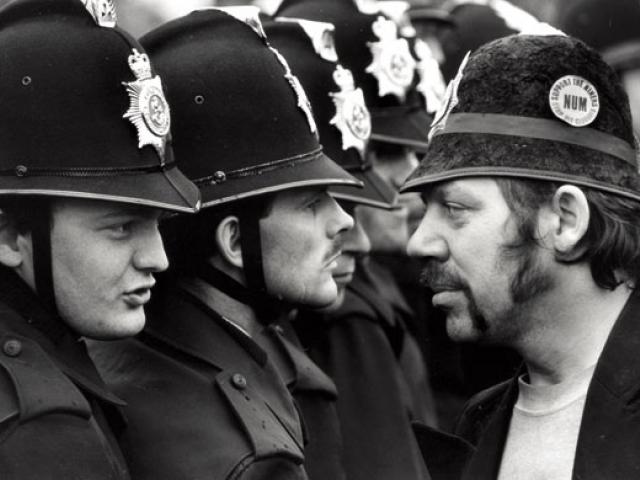 Восстания шахтеров 1984-85. Фото: Дон Макфи