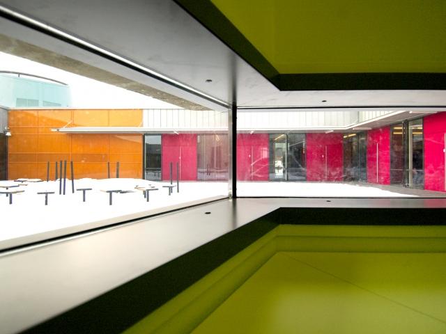 Школа Raholt в Норвегии, Проект архитектурного бюро Кристины Ярмунд