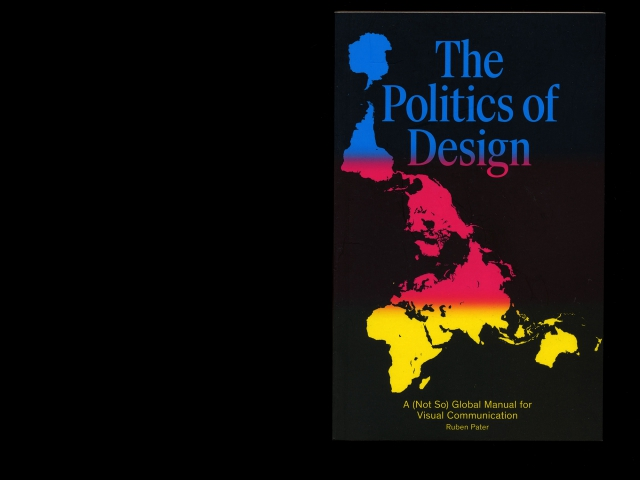 'Politics of Design', 2016, book cover
