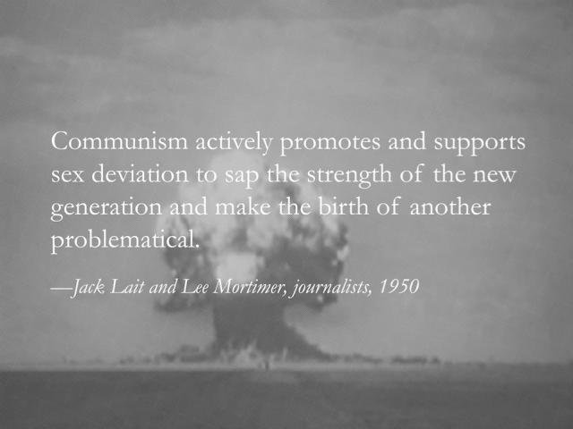 Yevgeniy Fiks, 'Stalin's Atom Bomb a.k.a. Homosexuality', b/w giclee print,2012