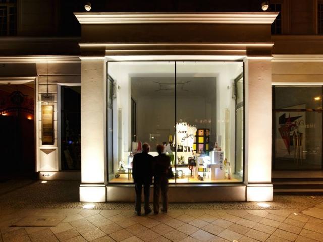 Анника Эрикссон,  выставка Shop Front  Coherence, 2011