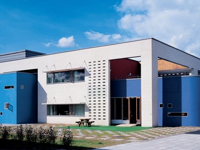 Школа Bergenshus в Норвегии, Проект архитектурного бюро Кристины Ярмунд