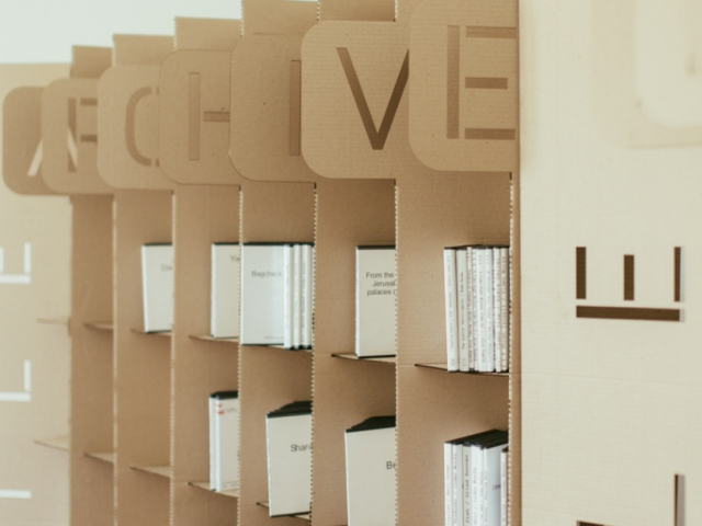 Mobile Archive in Russia. Installation view