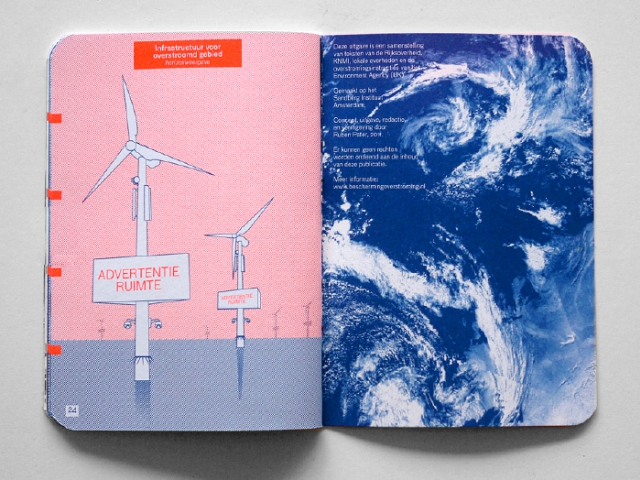Life after the Flood, First Dutch flood manual. Design: Ruben Pater, 2011.