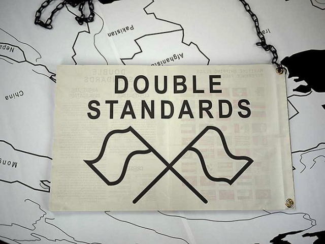Double Standards publication, 2012