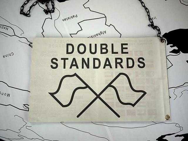 Double Standards publication, 2012