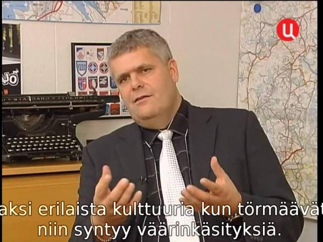 Harri Manskinen, editor of the Finnish news portal Uutisvuoksen päätoimittaja