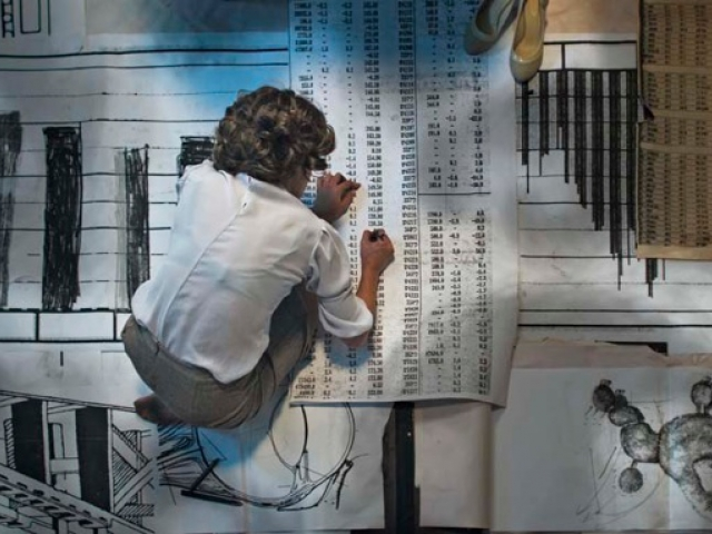 «Правило черного и белого», 2011, видео, 17 мин, кадр из видео. Предоставлено художницей