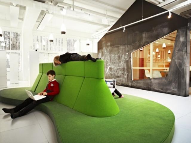 Школа Виитра в Стокгольме, проект архитектурного бюро Rosan Bosch